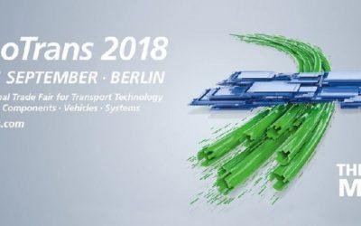 ISE tra gli espositori della fiera internazionale Innotrans di Berlino (18-21 Settembre 2018)